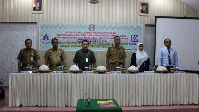 Taspen dan Penyerahan SK CPNS Bidan PTT