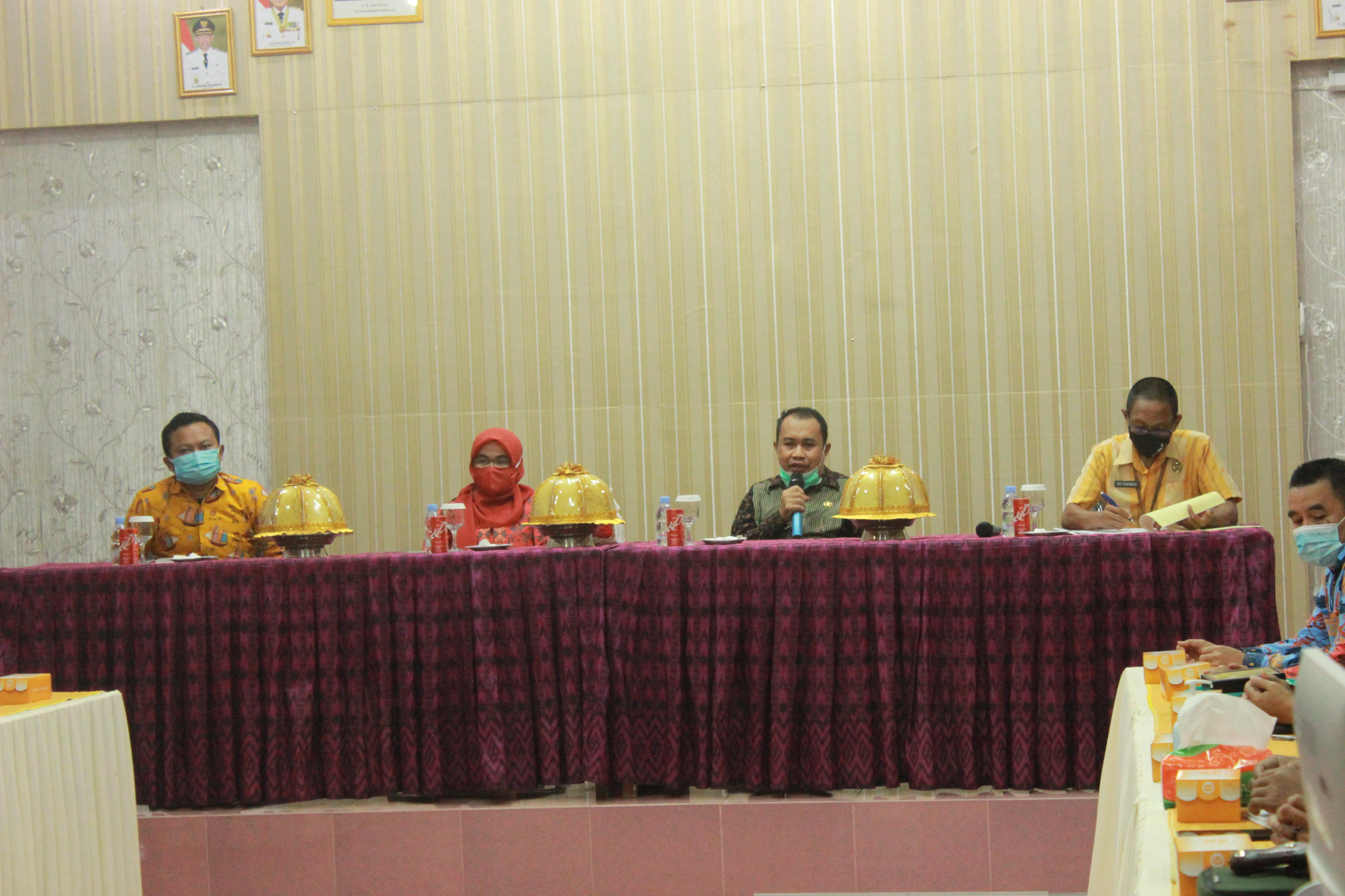 Photo of Kunjungan Dinas BKPSDM Kabupaten Kolaka ke BKPSDM Kabupaten Wajo