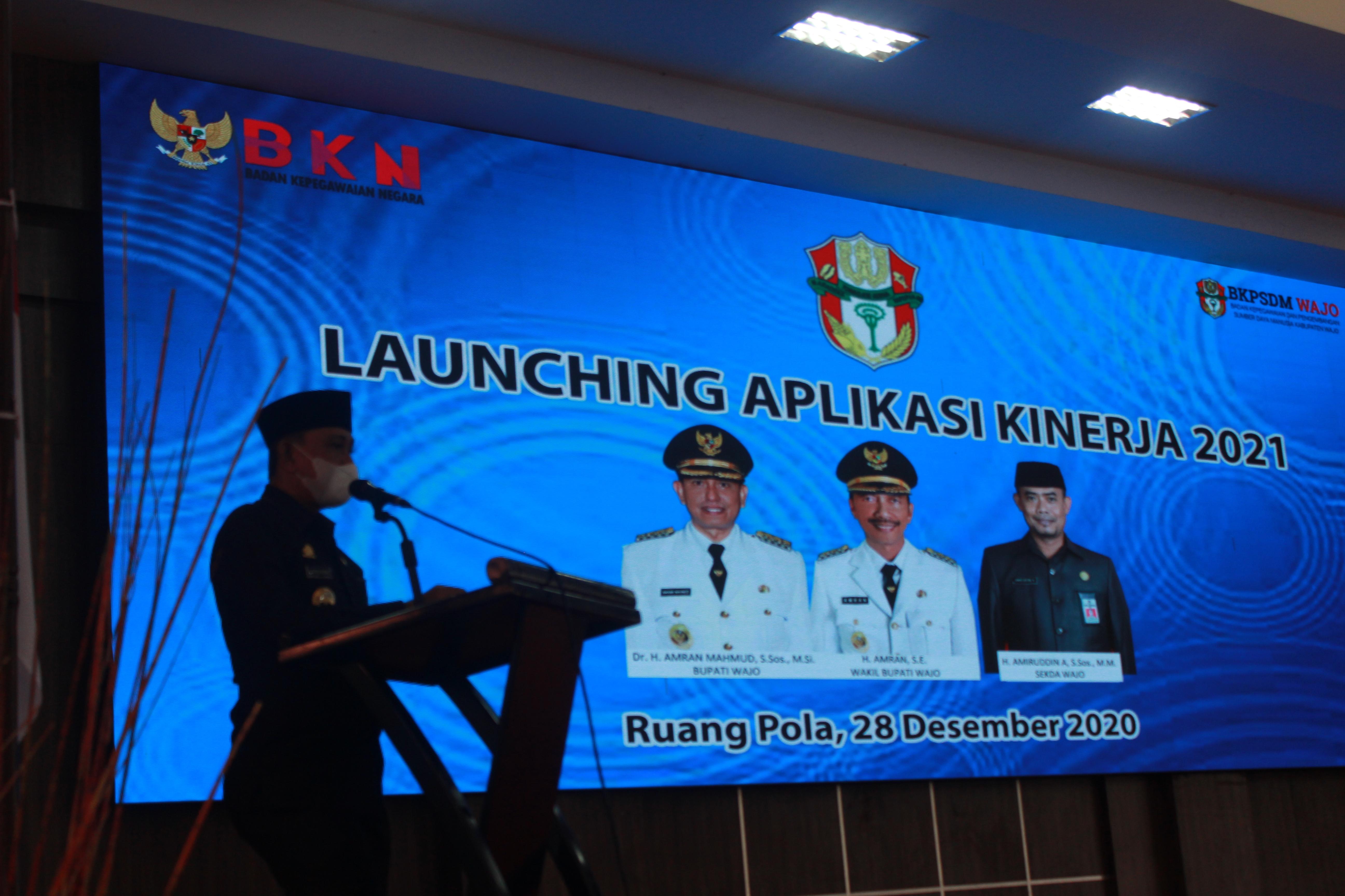 Launching Aplikasi Kinerja Versi 3 0 Pemerintah Kabupaten Wajo Bkpsdm Wajo